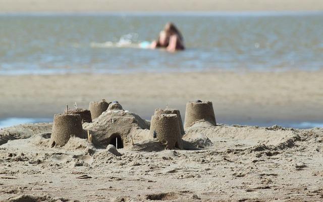 море, песок, летний отдхых, каникулы