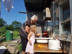 быть альфой, бабушка, внуки