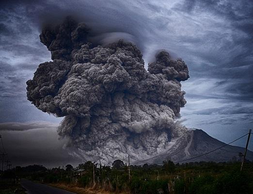 агрессия, атакующая энергия, вулкан
