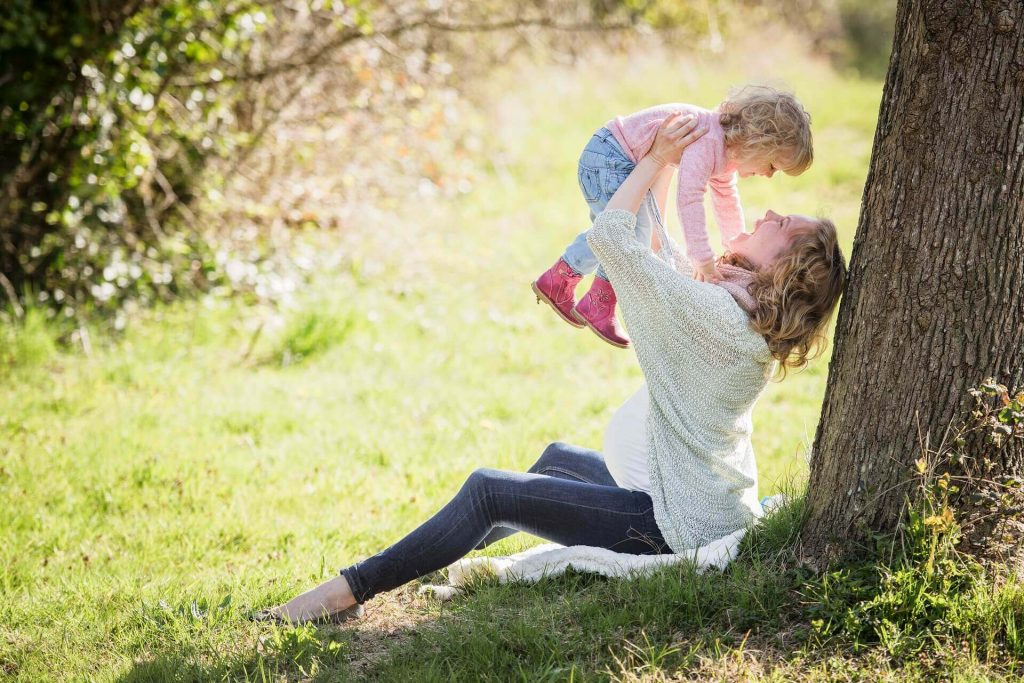 мама, ребенок, завладевание