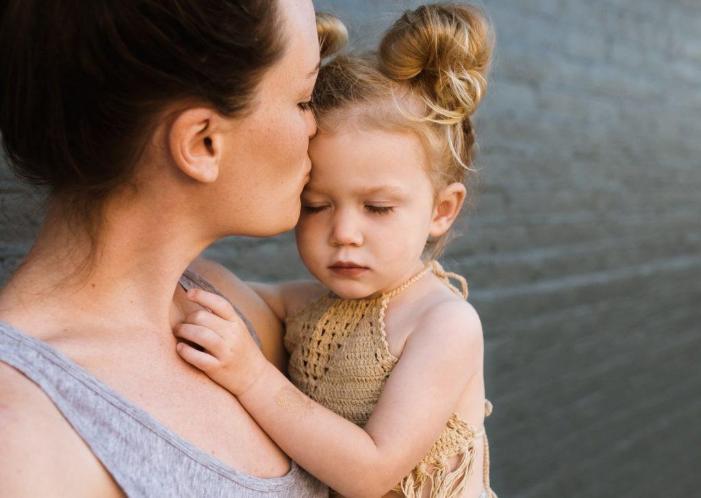 мама, ребенок, утешение