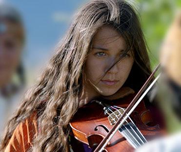 Шана, скрипка