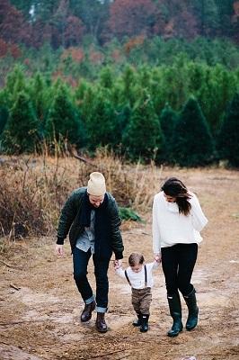 дети, прогулка, родители