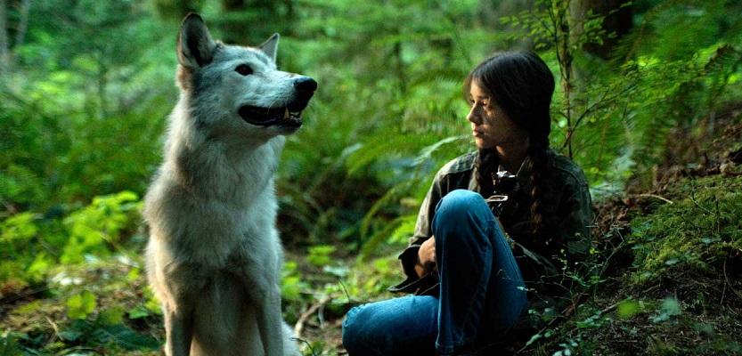 Шана и волчица