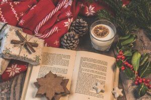 чтение детям, зимние книги