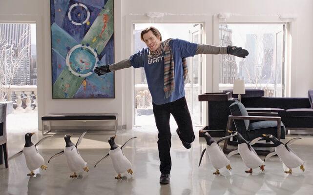 фильм, пингвины